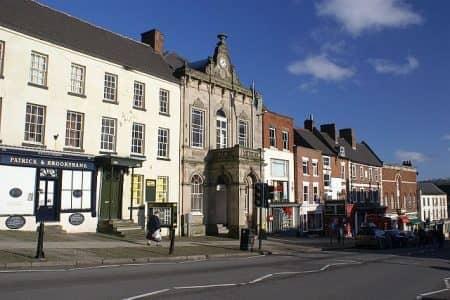 Market Hall in Ashbourne
