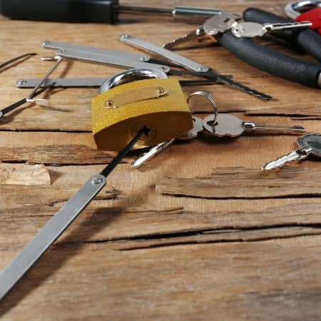Locksmiths tools