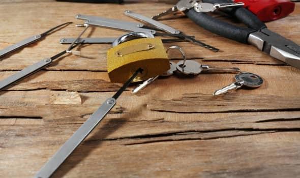 Locksmiths tools